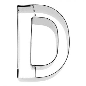 Buchstabe D, 6 cm