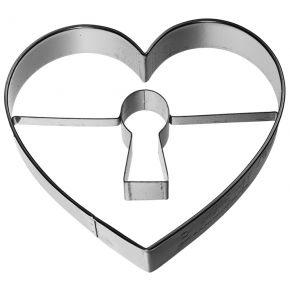 Ausstechform | Herz mit Schlüsselloch