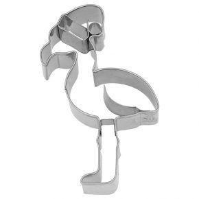 Ausstechform   Weihnachts-Flamingo, 10 cm