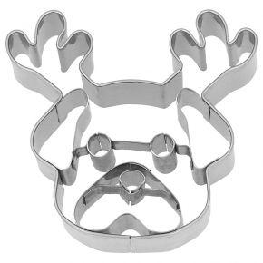 Ausstechform | Weihnachts-Mops, 7,5 cm