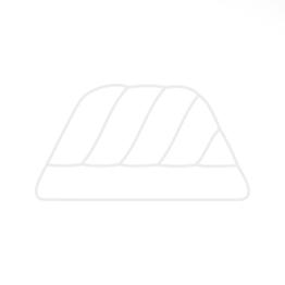 Silikonteigschaber | orange, groß