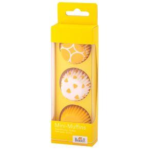 Mini-Muffin-Papierförmchen | Colour Splash, Gelb