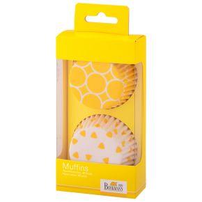 Muffin-Papierförmchen | Colour Splash, Gelb