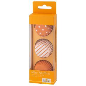 Mini-Muffin-Papierförmchen | Colour Splash, Orange