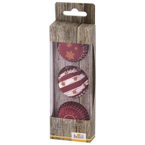 Mini-Muffin-Papierförmchen   Little Christmas, Stern