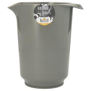 Rühr- und Servierschüssel, Grau, 1,5 Liter