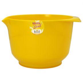 Rühr- und Servierschüssel, Gelb, 3,0 Liter