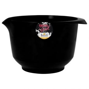 Rühr- und Servierschüssel, Schwarz, 2 Liter