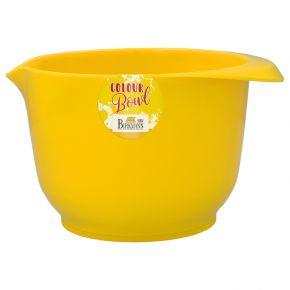 Rühr- und Servierschüssel, Gelb , 1,5 Liter