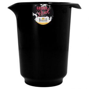 Rühr- und Servierschüssel, schwarz, 1,5 Liter