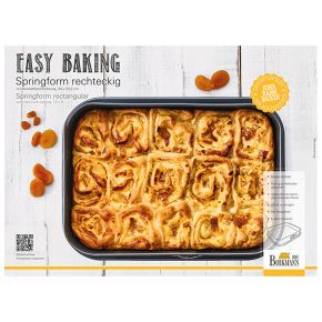 Springform eckig, 34 x 23,5 cm   Easy Baking