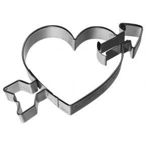 Ausstechform | Herz mit Pfeil