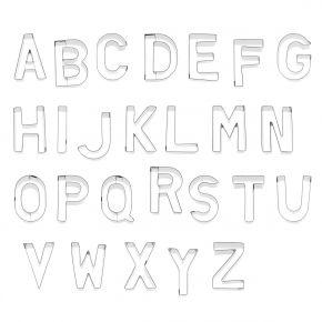 Buchstaben-Set | A-Z, je 6 cm