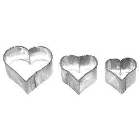 Herz | 3-fach Terrasse, 2,5; 3; 4 cm