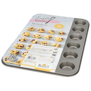 Mini-Muffinform, 24-fach | Basic Baking