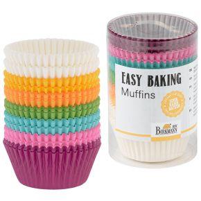 Muffin-Papierförmchen | Easy Baking, bunt