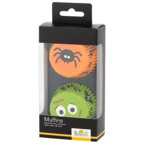 Muffin-Papierförmchen | Halloween II