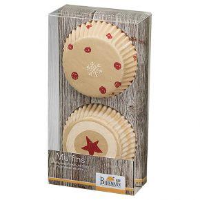 Muffin-Papierförmchen   Little Christmas I