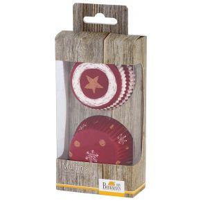 Muffin-Papierförmchen | Little Christmas, Schneeflocke