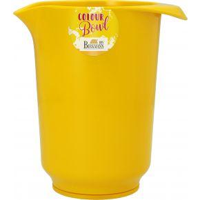Rühr- und Servierschüssel, Gelb , 1,0 Liter