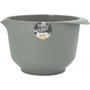 Rühr- und Servierschüssel, Grau, matt, 2,0 Liter