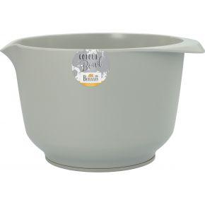 Rühr- und Servierschüssel, Stein, matt, 3,0 Liter