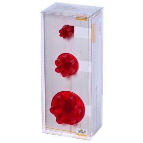 Set | Blume Lilie, 1,5 - 4,5 cm | 3-teilig