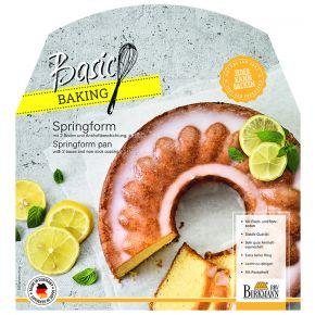 Springform mit zwei Böden, 28 cm | Basic Baking