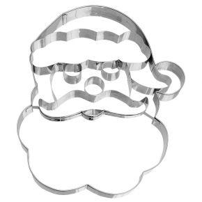 XXL-Ausstechform | Weihnachtsmann-Gesicht, 18,5 cm