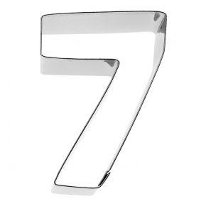 Zahl 7, 6 cm