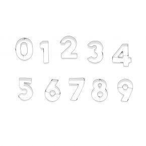 Zahlen-Set | 0-9, je 6 cm