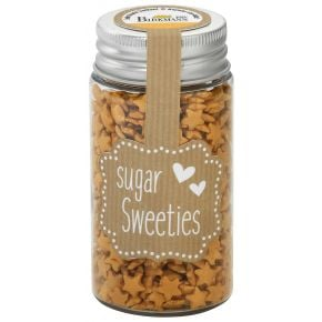 Zuckersterne | Gold, 7 mm