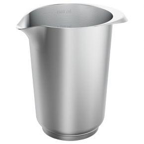 Rühr- und Servierbecher, Edelstahl, 1,5 Liter