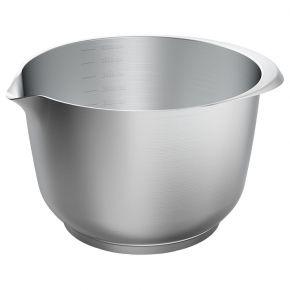 Rühr- und Servierschüssel, Edelstahl, 4 Liter