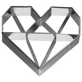Ausstechform   Herz Diamant