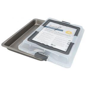 Backblech mit Transporthaube   Basic Baking