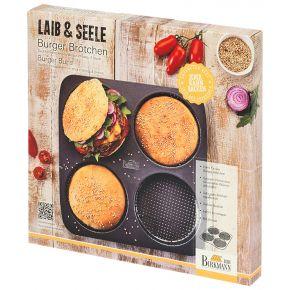 Burger Brötchen-Blech, perforiert   Laib und Seele