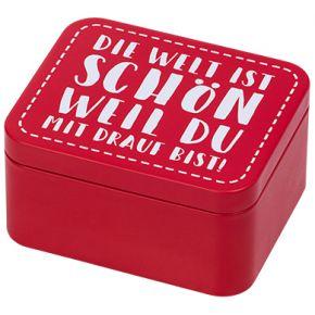 Geschenkbox   Colour Kitchen, Rot
