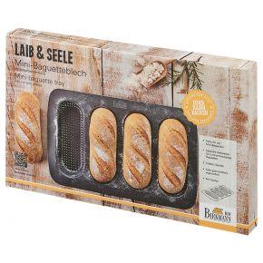 Mini-Baguette-Blech, perforiert   Laib und Seele