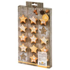 Mini-Cakes   Stars, klein