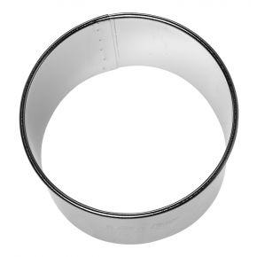 Profi-Ausstechform   Kreis, glatt, Ø 8 cm