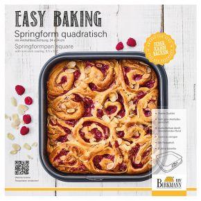Springform quadratisch, 24 x 24 cm   Easy Baking