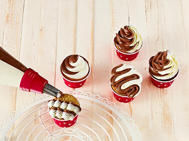 Cake Couture Doppelkammer Spritzbeutel